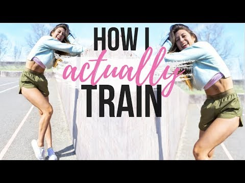 HOW I ACTUALLY TRAIN    MY FULL WEEK OF WORKOUTS!