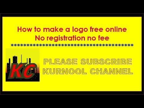 How to make a logo free online no registration