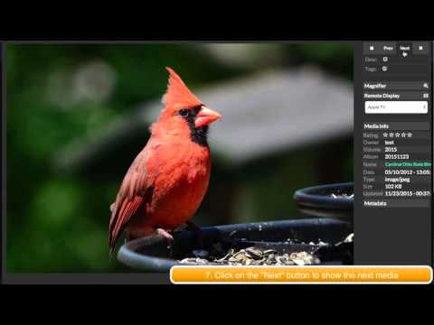 How to display image and stream video to Apple TV