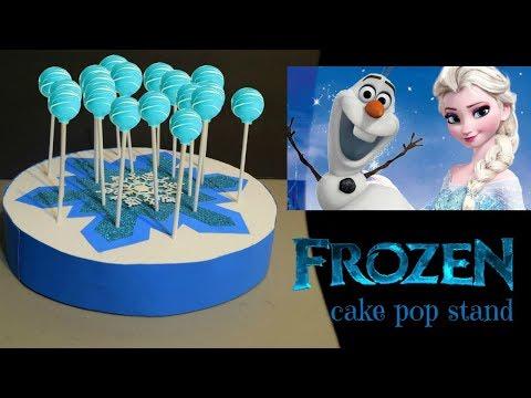 Base para cake pops ❄ Frozen cake pop stand