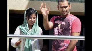Mahendra Singh Dhoni & His Wife Sakshi Rawat... Tujh Mein Rab Dikhta Hai
