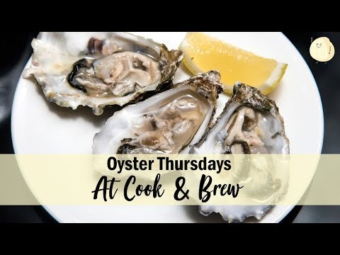 """Cook & Brew – The Freshest """"Oyster Thursdays"""" At The Westin Singapore"""