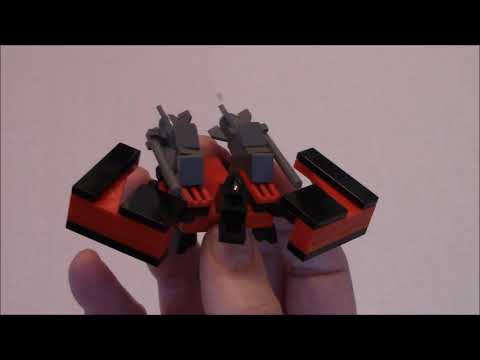 Build Lego Transformers Laserbeak and Buzzsaw with BWTMT Brickworks