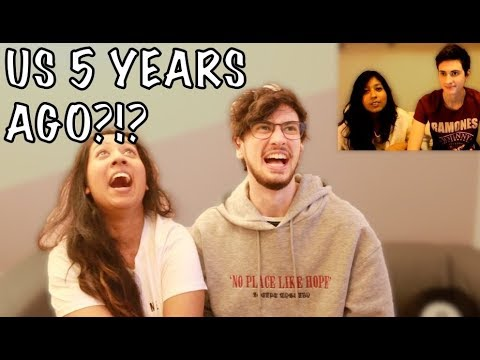 COUPLE REACTING TO OUR FIRST VIDEO