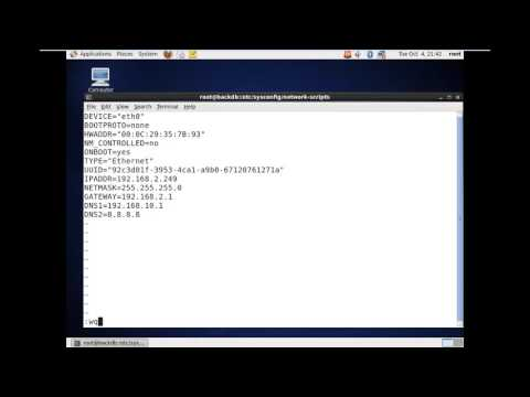 How to Configure  Network and Set Hostname in CentOS 6 3
