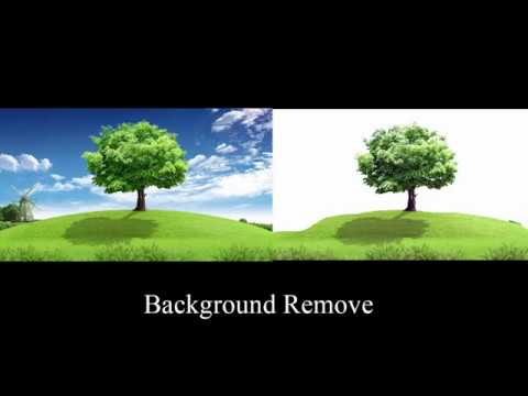 How to Remove background pictures in photoshop