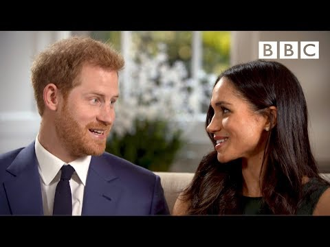 When Prince Harry and Meghan Markle fell in love | Interview - The Royal Wedding - BBC