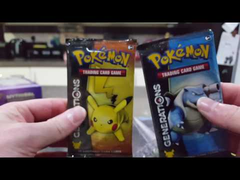 Genesect mythical pokemon opening AMAZING PULLS IN THE LAST PACK!!!!!
