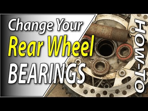 How To Change The Rear Wheel Bearings On Your Dirt Bike | FYDB