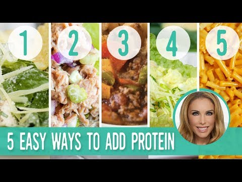 Making Food Healthy - Protein Treats By Nutracelle