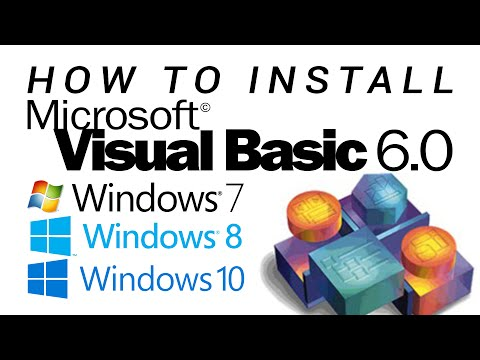 How to Install Visual Basic 6.0 on Windows 7/8/8.1/10