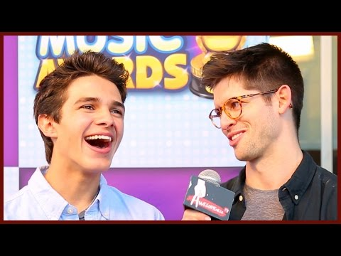 BRENT RIVERA'S CELEBRITY CRUSH + Best Day Ever w/ Hunter