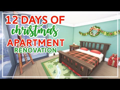 12 Days of Christmas in The Sims 4 🎄🎄 | Apartment Renovation (Day #11)