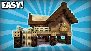 Minecraft Medieval Windmill Tutorial (EASY 5X5 BUILDING SYSTEM)
