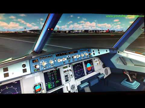 How to: Fly Airbus Extended A320 With Autopilot Tutorial [P3D] [FSX] [4K]