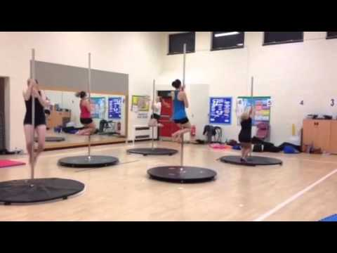 Bedford Beginners Pole Course  Week 2 Justin Timberlake routine  Group 1