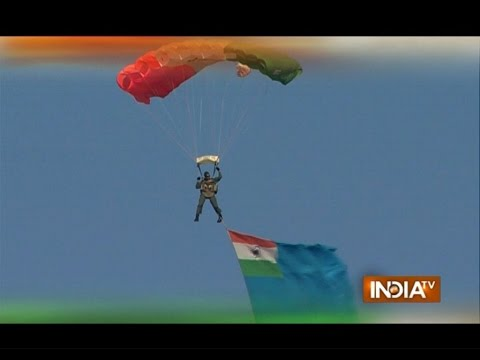 Air Force Day 2015: India Shows its Power to the World in Ghaziabad - India TV