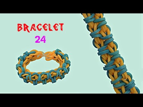 rabnbow loom bracelet 24