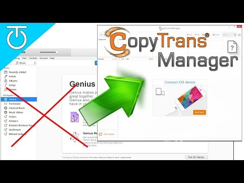 iTunes Alternative to Easily Copy Music to iPhone/iPod/iPad - CopyTrans Manager