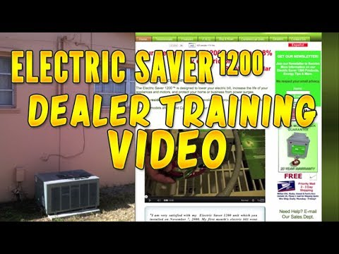 Electric Saver 1200 Dealer Training Video