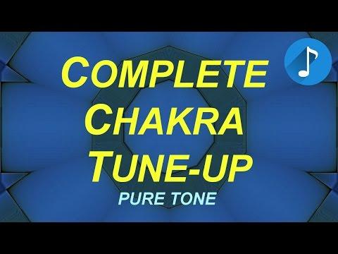 Full Chakra Tune-Up - Pure Tone Brainwaves - Root to Crown - Monaural Beats