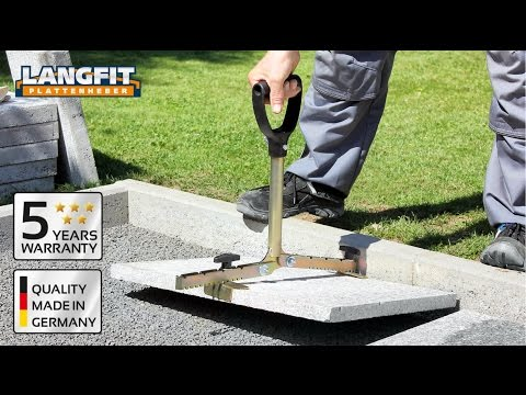 LANGFIT Paving Slab Lifter With The Extra-Long Handle
