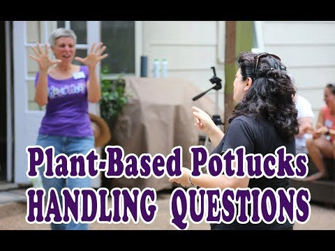 How to Host Plant-Based Movie Party - Handling Questions