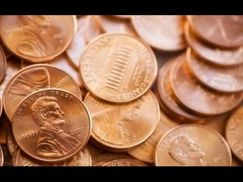 How To Clean Pennies 1 Easy Trick -  Crazy Science Experiment