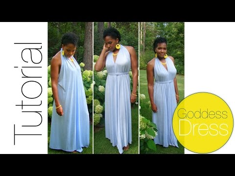 DIY Goddess Dress Tutorial