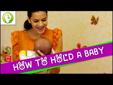 How To Hold A Baby - Newborn Care