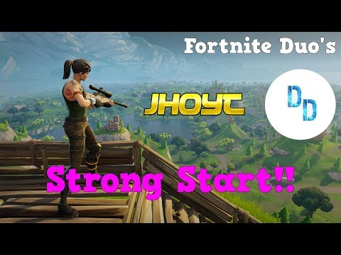 Strong Start!! Fortnite Duo's w/ Dunndurr!!