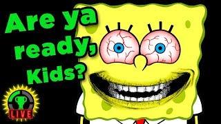 RUINING YOUR CHILDHOOD!! | Spongebob Horror Games (3AM At The Krusty Krab)