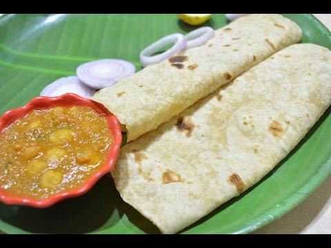 Chapatti | Chana masala | Easy Dinner | Homemade Chapatti | Dinner Menu-1