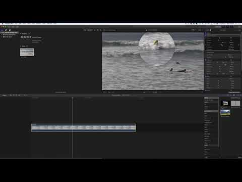 Final Cut Pro X & Apple Motion Demo: Zoom & Highlight with Blur and Fade (no sound)