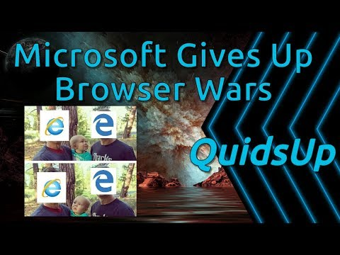 Microsoft Gives Up The Browser Wars