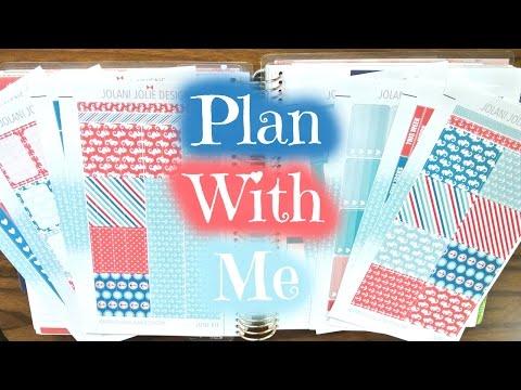 Plan With Me ~ JolaniJolieDesigns Nautical Seahorses