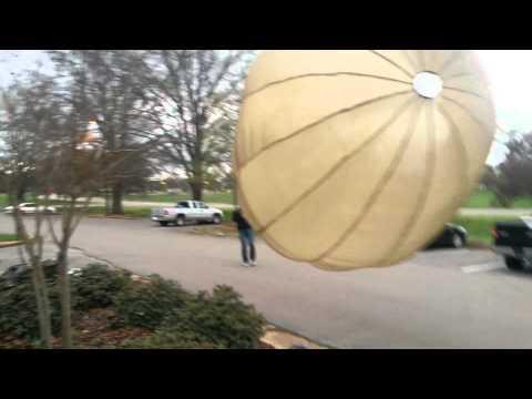 Homemade parachute