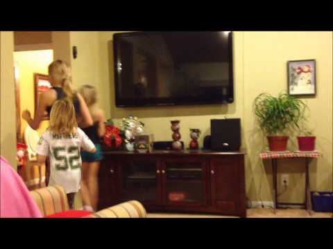 cheer stunts and cheer routine