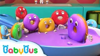 Learn Colors with Donuts | Numbers Song | Kids Kitchen | Nursery Rhymes | Baby Songs | BabyBus