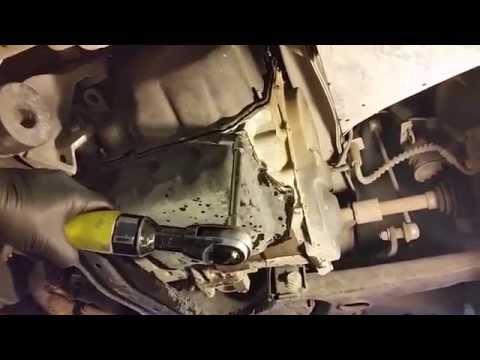 62TE Transaxle Transmission Fluid & Filter Change: Dodge Caravan: Town & Country: Routan