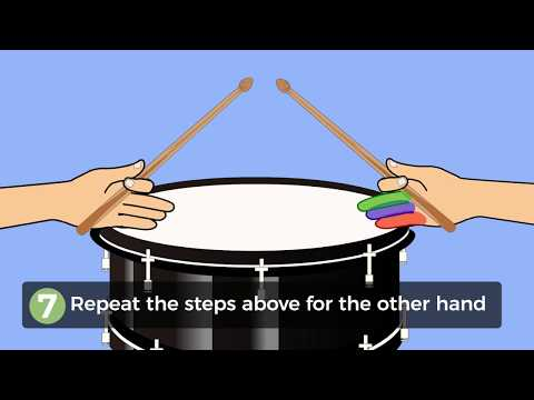 How to Hold a Drumstick Using the American Grip