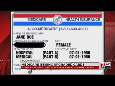 New Medicare cards could make seniors vulnerable to new scams