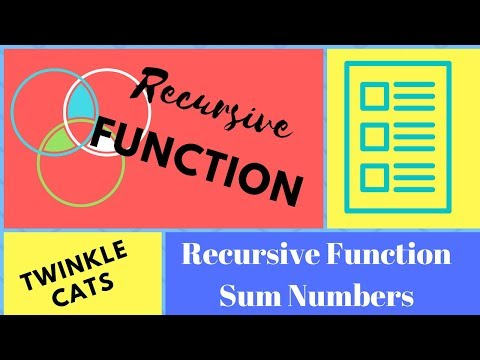 Recursive Function Complete Tutorial Bangla | Sum 1 to Nth Number Using Recursion