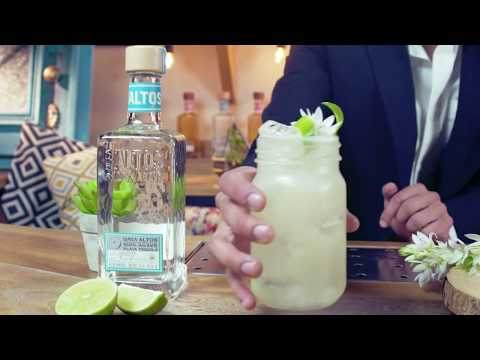 How to Make a Jasmine Tea Margarita