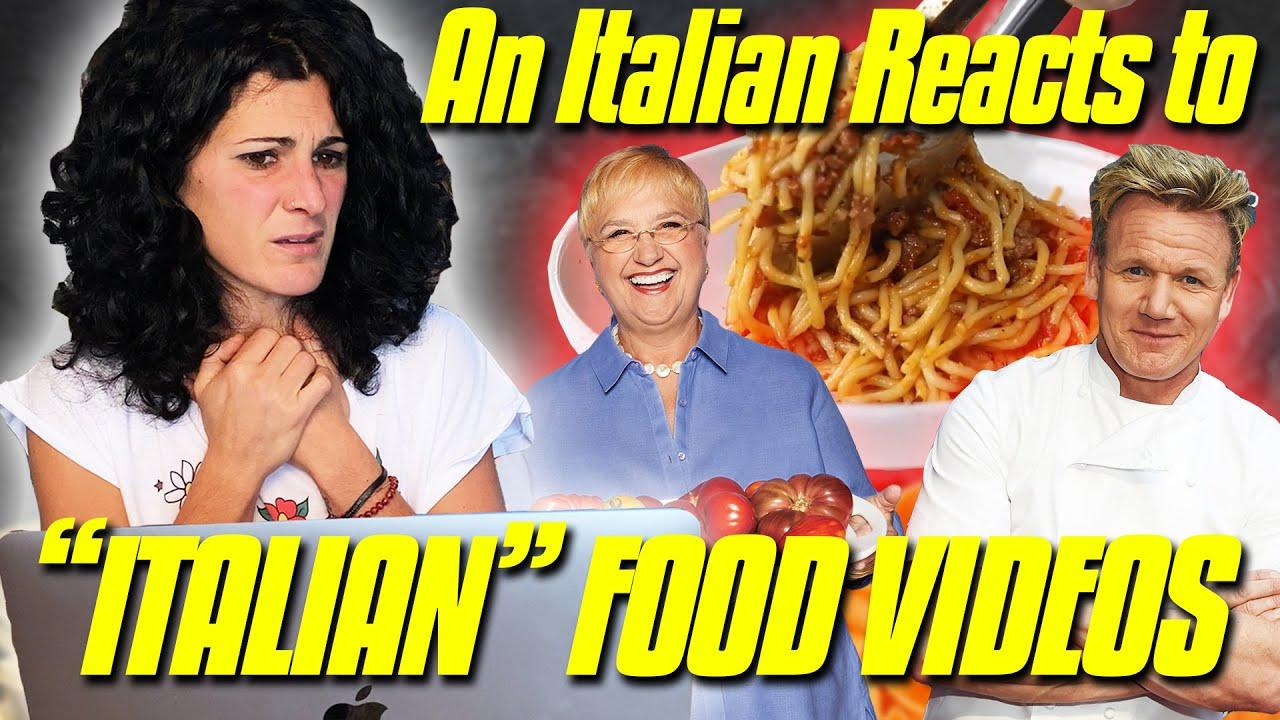 "An Italian Reacts to ""Italian"" Food Videos | Gordon Ramsay, Lidia Bastianich & Instant Pots, Oh My!"