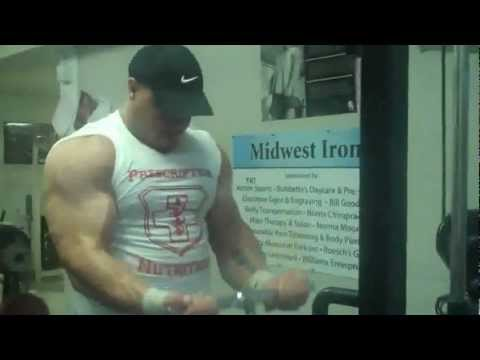 Chris Genkinger of Prescription Nutrition Cable Curling His Way to Bigger Biceps