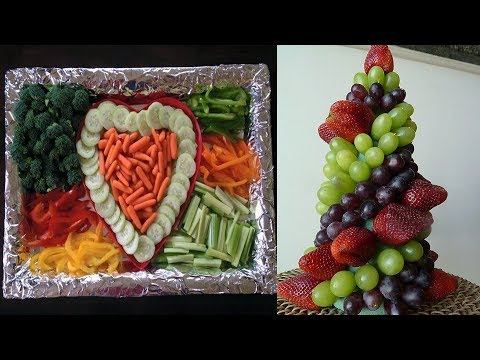 Making Your Own Party Platters   DIY Party Platters - Real Simple