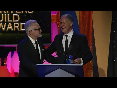 The 2018 Writers Guild Award for On-Air Promotion goes to CBS' Dan Greenberger