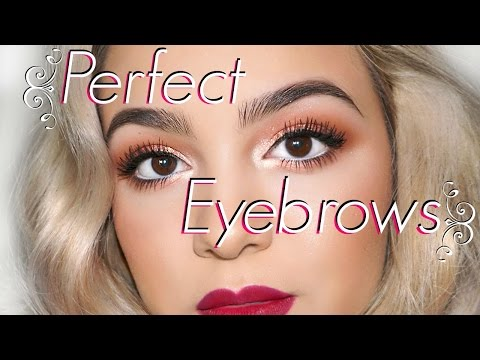 Shape & Fill Perfect Eyebrows for Your Face!