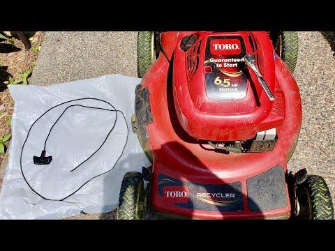 How To Fix Broken Pull Cord on Toro